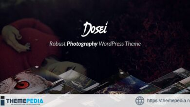 Dosei – Robust WP Theme for Photographers and Galleries [Free download]