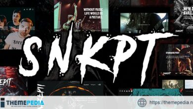 Snakepit – A Rock and Metal Oriented Music WordPress Theme [Updated Version]