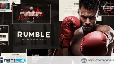 Rumble – Boxing & Mixed Martial Arts Fighting WordPress Theme [Free download]