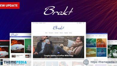 Brakt – Personal WordPress Theme [Free download]