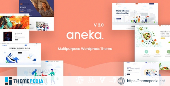 Aneka – Responsive Multi-Purpose WordPress Theme [Free download]