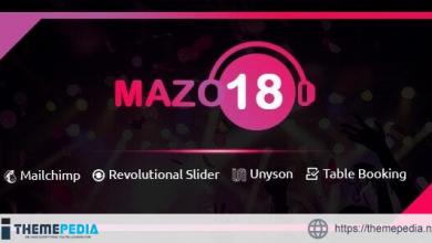 Mazo18 Night Club WordPress Theme [Free download]