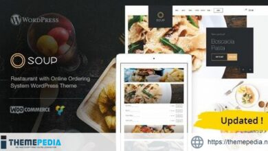 Soup – Online Food & Restaurant WP Theme [Free download]