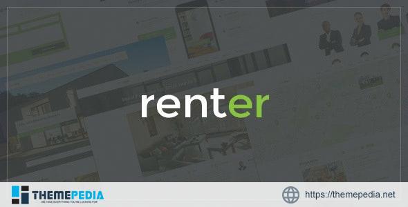 Renter — Property Rent-Sale Real Estate Agency & Realtor Responsive WordPress Theme [Latest Version]