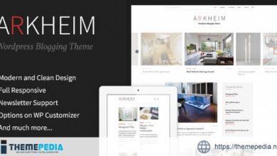 Arkheim – WordPress Blog Theme [Free download]