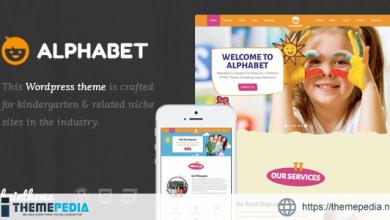 Alphabet – Kids, Children WordPress Theme [Free download]