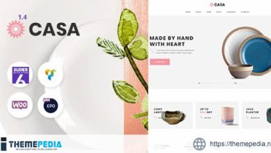 Casa – Furniture Ceramics WooCommerce Theme [Free download]