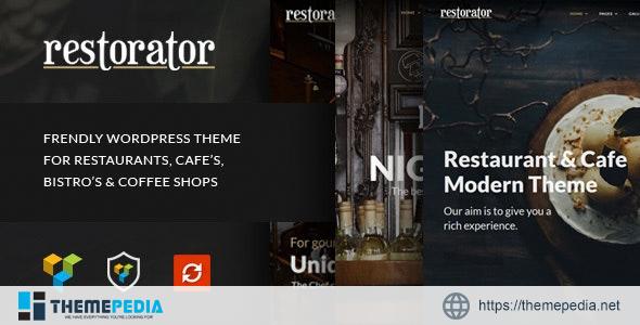 Restorator – Restaurant & Cafe WordPress Theme [Free download]