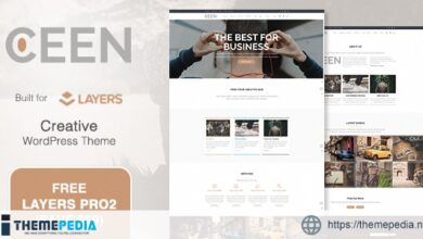 Ceen – Business MultiPurpose WordPress Theme [nulled]