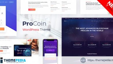 ProCoin – ICO & Cryptocurrency WordPress Theme [Updated Version]