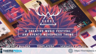 Surge – Music Festival & Event Theme [Updated Version]
