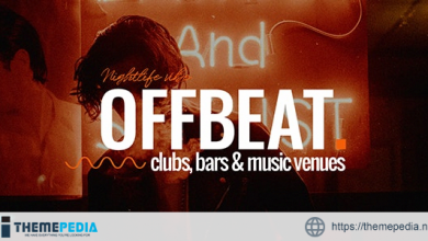 Offbeat – Nightlife, Pubs and Bars Theme [Free download]