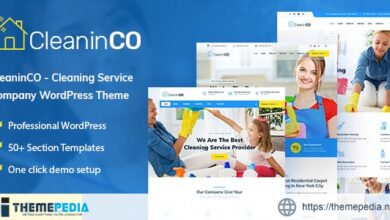 CleaninCO – Home Services WordPress Theme [Updated Version]
