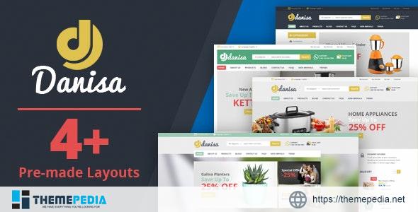 Danisa – Theme for WooCommerce WordPress [Free download]