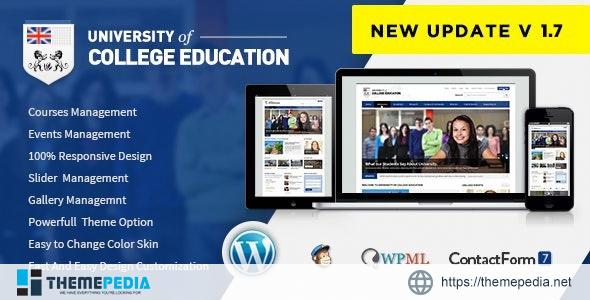 University – Education Responsive WordPress Theme [Updated Version]