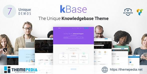 Knowledge Base WordPress Theme [Free download]