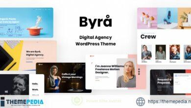 Byra – Personal Portfolio WordPress [Free download]