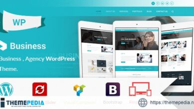 Business – Agency & Corporate WordPress Theme [Free download]