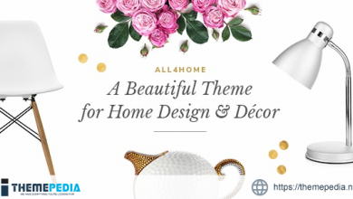 All4Home – Home Decoration Theme [Free download]