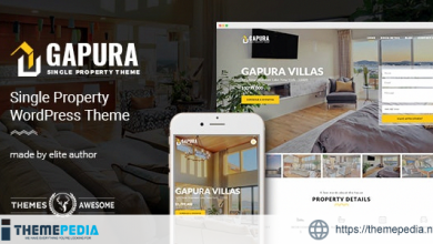 Gapura – Single Property WordPress Theme [Free download]