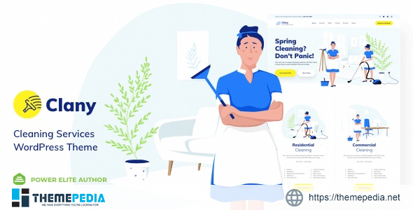 Clany – Cleaning Services WordPress [nulled]