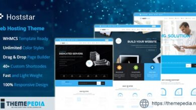 HostStar – WP Theme for Hosting, SEO and Web Design Business [Free download]