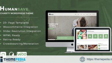 Humansave – Responsive Nonprofit Charity WordPress Theme [Free download]