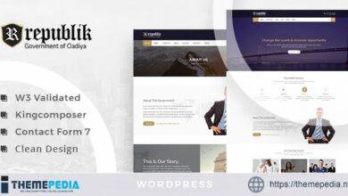 Republik – Government Portal WordPress Theme [Updated Version]