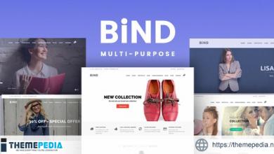 Bind – Effortless Help Desk and Creative Multi-Purpose Theme [Free download]