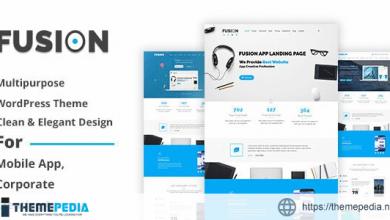 Fusion – Responsive Multipurpose WordPress Theme [Latest Version]