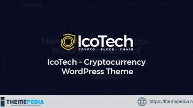 IcoTech – Crypto BlockChain WordPress Theme [Free download]