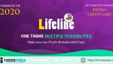 Lifeline – NGO, Fund Raising and Charity WordPress Theme [Free download]