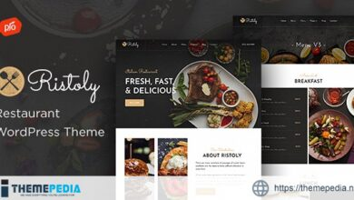 Ristoly – Restaurant WordPress Theme [Free download]