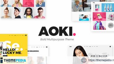 Aoki – Creative Design Agency Theme [Free download]