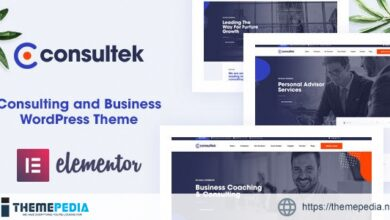 Consultek – Consulting Business WordPress Theme [nulled]