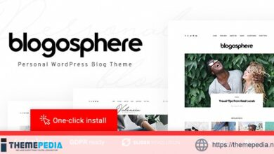 Blogosphere – Multipurpose Blogging Theme [nulled]