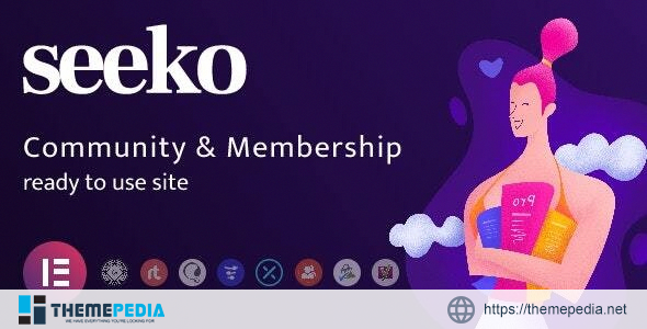 Seeko – Community Site Builder with BuddyPress SuperPowers [Latest Version]