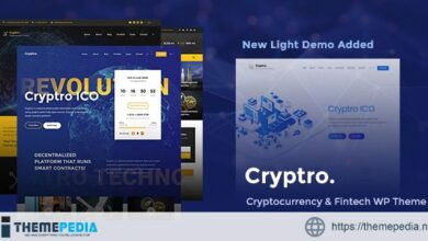 Cryptro – Cryptocurrency, Blockchain , Bitcoin & Financial Technology [Updated Version]
