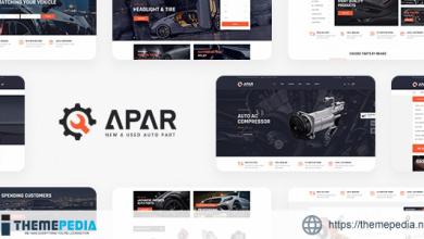 Apar – Auto Parts WordPress Shop Theme [Free download]