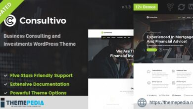 Consultivo – Business Consulting and Investments WordPress Theme [nulled]