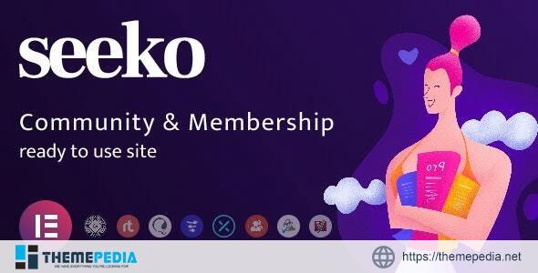 Seeko – Community Site Builder with BuddyPress SuperPowers [Free download]