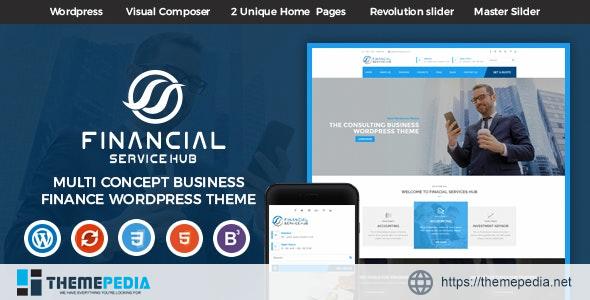 Financial Business Hub Corporate WordPress Theme – RTL [Latest Version]