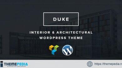 Duke – Interior & architectural WordPress theme [Updated Version]