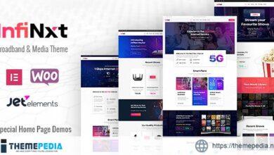 InfiNxt – Satellite TV, Internet Service Provider WordPress Theme [Latest Version]