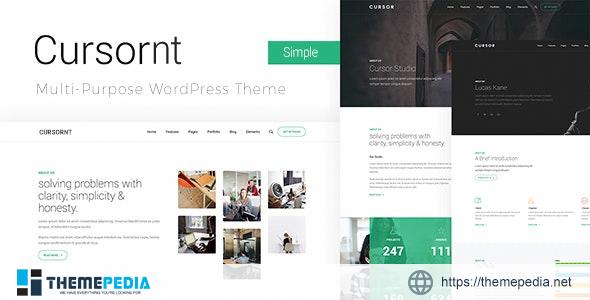Cursornt – Responsive Clean Business WordPress Theme [Free download]