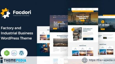 Facdori – Factory and Industrial Business WordPress Theme [Latest Version]