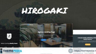 Hirogaki – Multipurpose Landing Page WordPress Themes [Free download]