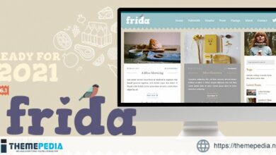 Frida – A Sweet & Classic Blog Theme [Latest Version]
