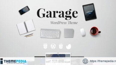 Garage Blog A responsive WordPress theme [Free download]