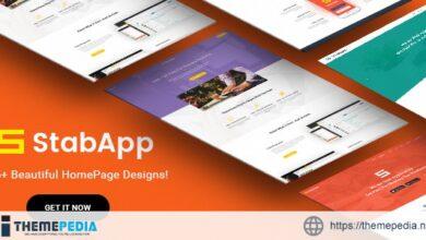 StabApp – Mobile App Showcase WordPress Theme [Free download]
